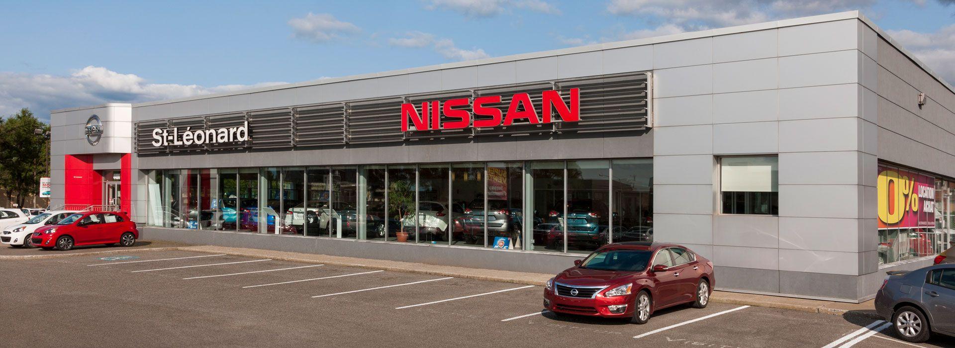 Nissan Gabriel St Leonard Groupe Gabriel Concessionnaire A